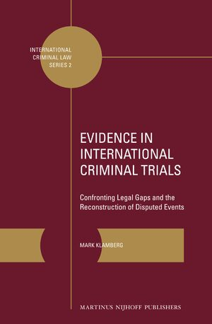 Cover Evidence in International Criminal Trials