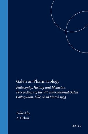Cover Galen on Pharmacology