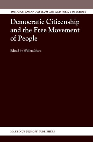 Cover Democratic Citizenship and the Free Movement of People