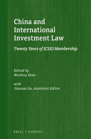 Cover China and International Investment Law