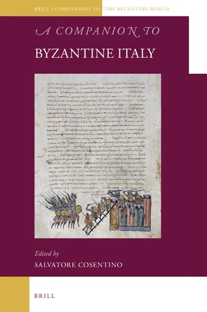 Cover A Companion to Byzantine Italy