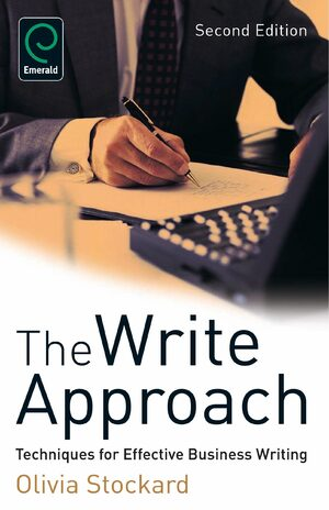 Cover The Write Approach: Techniques for Effective Business Writing