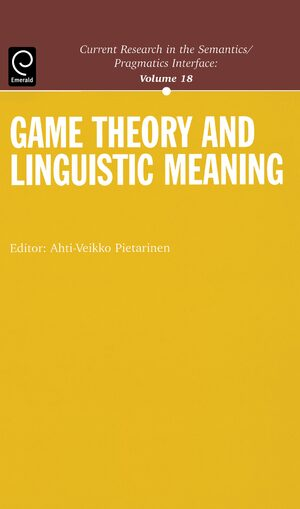 Cover Game Theory and Linguistic Meaning