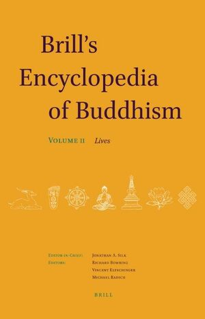 Cover Brill's Encyclopedia of Buddhism. Volume Two