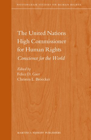 Cover The United Nations High Commissioner for Human Rights