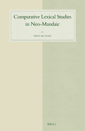 Cover Comparative Lexical Studies in Neo-Mandaic