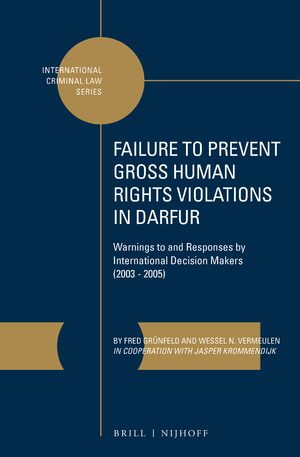 Cover Failure to Prevent Gross Human Rights Violations in Darfur