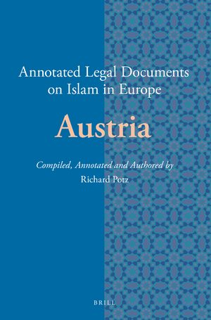 Cover Annotated Legal Documents on Islam in Europe: Austria