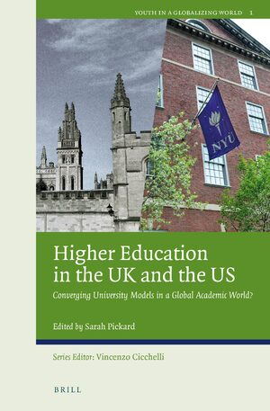 Cover Higher Education in the UK and the US
