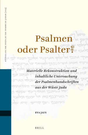 Cover Psalmen oder Psalter?