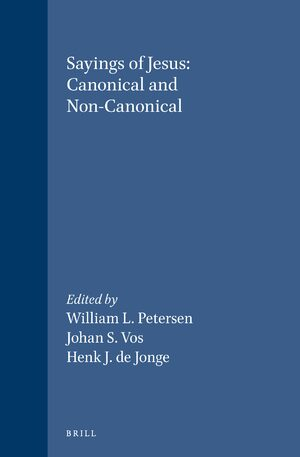 Cover Sayings of Jesus: Canonical and Non-Canonical