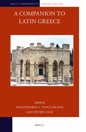 Cover A Companion to Latin Greece