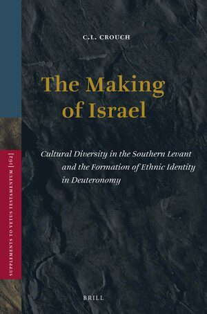 Cover The Making of Israel