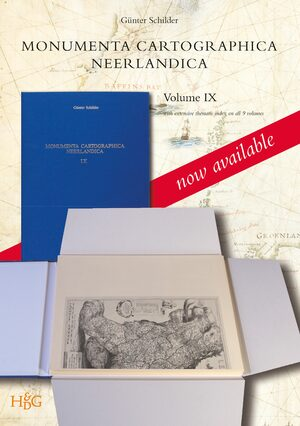 Cover Monumenta Cartographica Neerlandica Volume IX (3 Vols.)