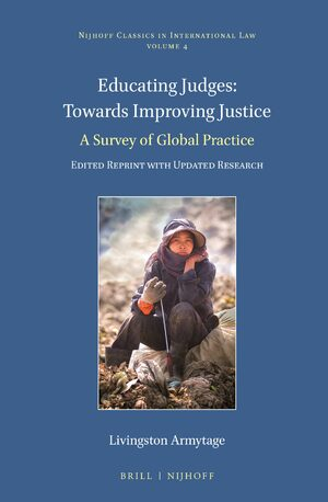 Cover Educating Judges: Towards Improving Justice