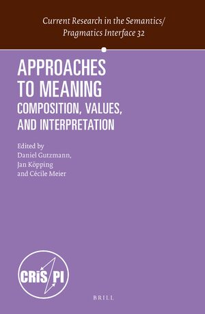 Cover Approaches to Meaning