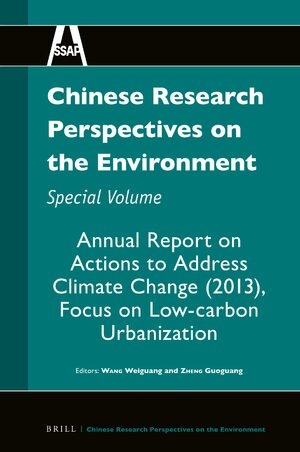 Cover Chinese Research Perspectives on the Environment, Special Volume