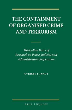 Cover The Containment of Organised Crime and Terrorism