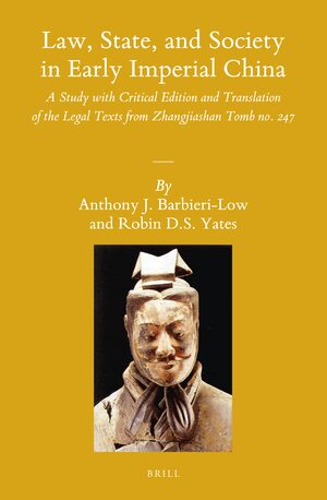 Cover Law, State, and Society in Early Imperial China (2 vols)