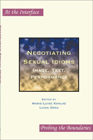 Cover Negotiating Sexual Idioms