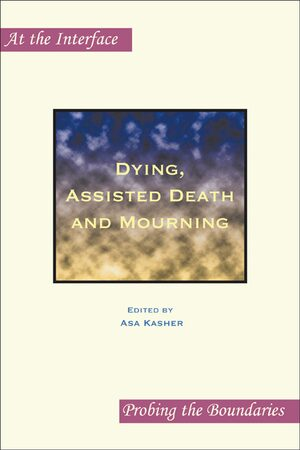 Cover Dying, Assisted Death and Mourning