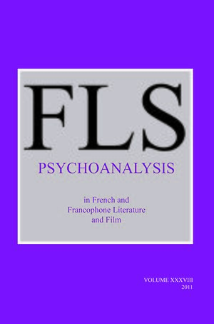 Cover Psychoanalysis in French and Francophone Literature and Film