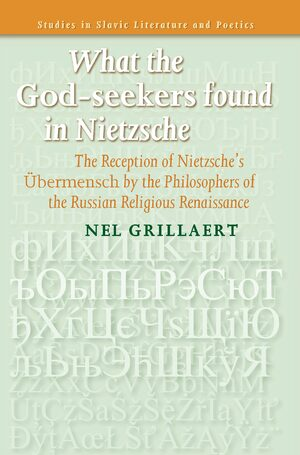 Cover What the <i>God-seekers</i> found in Nietzsche