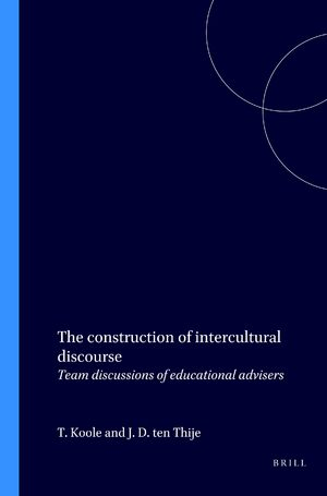 Cover The construction of intercultural discourse