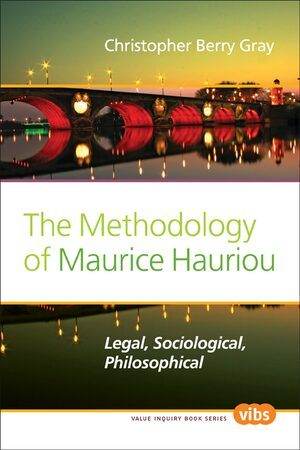 Cover The Methodology of Maurice Hauriou