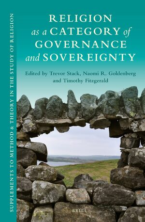 Cover Religion as a Category of Governance and Sovereignty