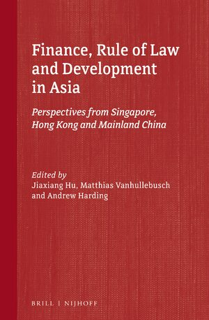 Cover Finance, Rule of Law and Development in Asia