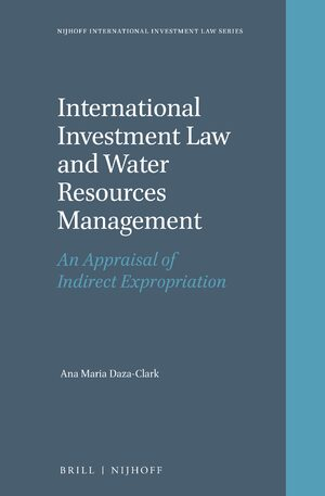 Cover International Investment Law and Water Resources Management