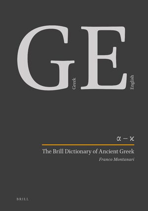 Cover The Brill Dictionary of Ancient Greek (SET)