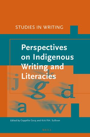 Cover Perspectives on Indigenous writing and literacies