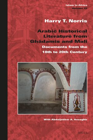 Cover Arabic Historical Literature from Ghadāmis and Mali