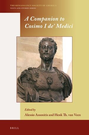 Cover A Companion to Cosimo I de' Medici