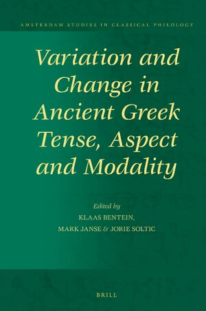 Cover Variation and Change in Ancient Greek Tense, Aspect and Modality