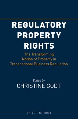 Cover Regulatory Property Rights