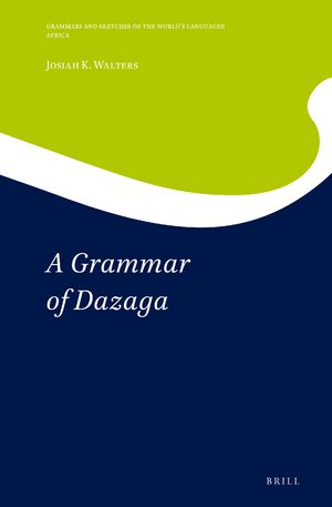 Cover A Grammar of Dazaga