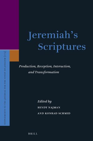 Cover Jeremiah's Scriptures