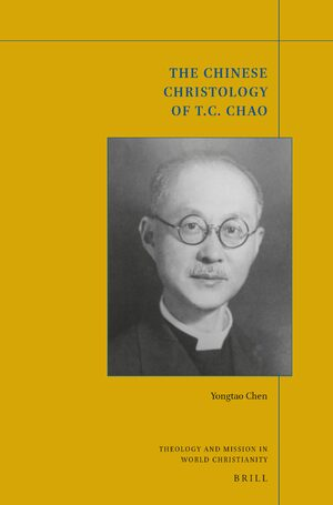 Cover The Chinese Christology of T. C. Chao