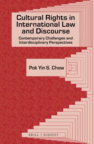 Cover Cultural Rights in International Law and Discourse