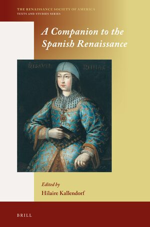 Cover A Companion to the Spanish Renaissance