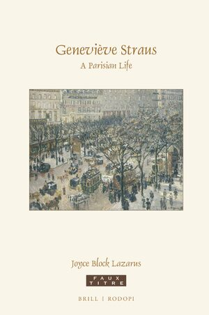 Cover Geneviève Straus: A Parisian Life