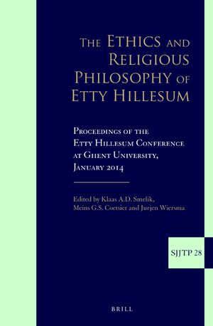 Cover The Ethics and Religious Philosophy of Etty Hillesum