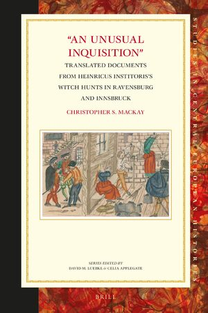 "Cover ""An Unusual Inquisition"""