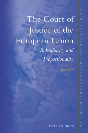 Cover The Court of Justice of the European Union
