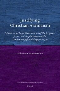 Cover Justifying Christian Aramaism