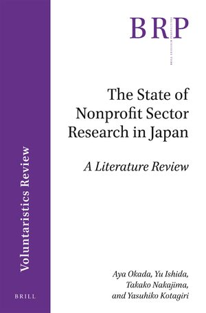 Cover The State of Nonprofit Sector Research in Japan