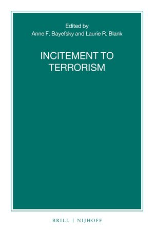 Cover Incitement to Terrorism